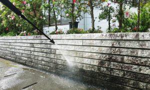 saks駐車場や塀などの汚れにお困りではありませんか?